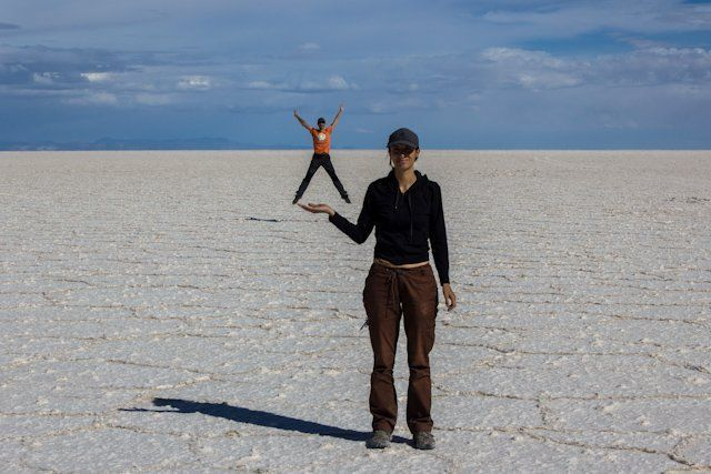 SaltaConmigo en el Salar de Uyuni. Bolivia