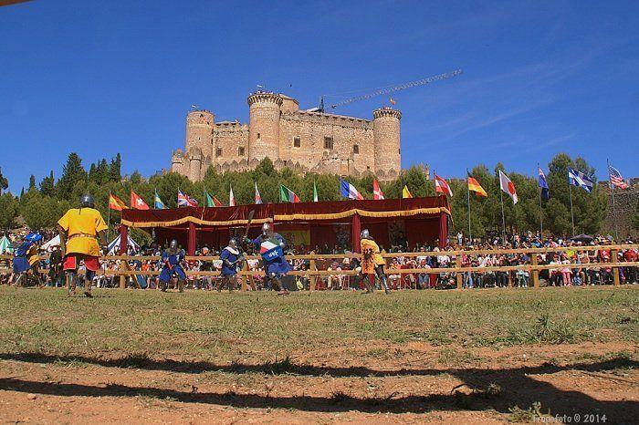 el castillo de belmonte acoge el mundial de combate medieval