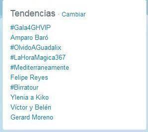 #Birratour y #Mediterráneamente consiguen ser Trending Topic