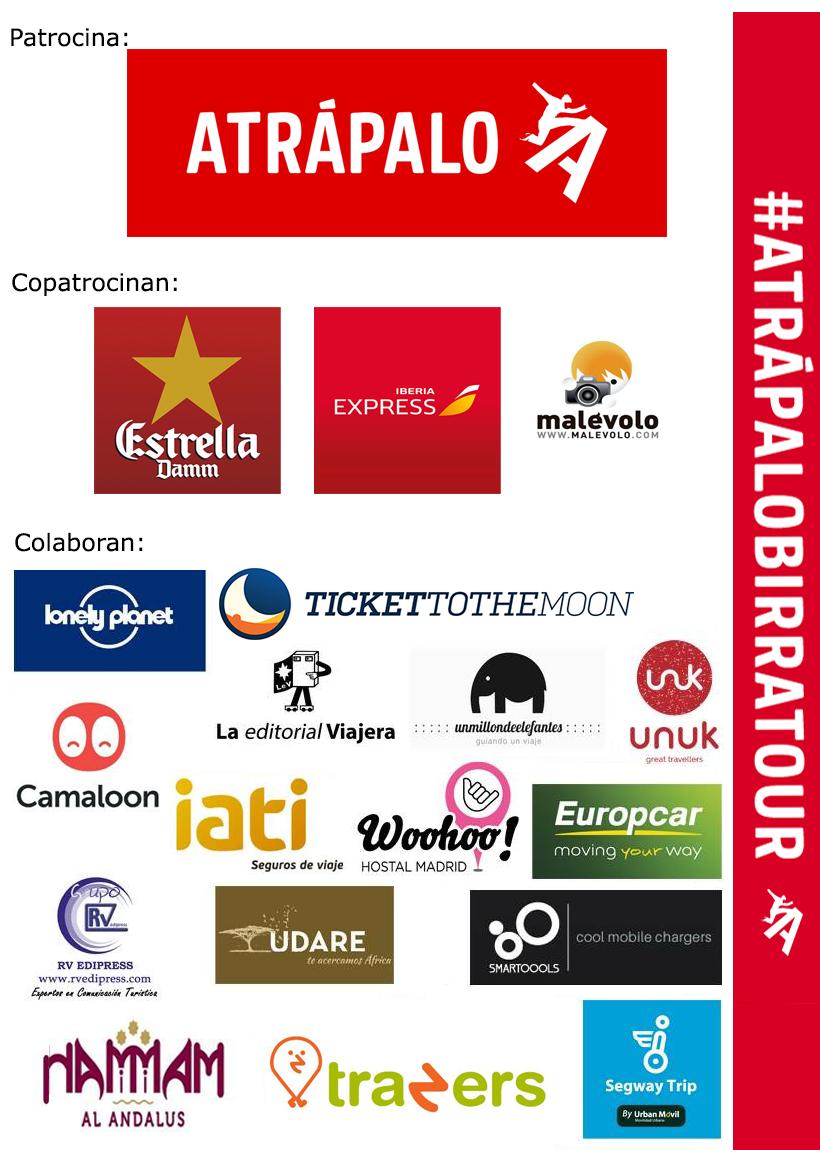 Marcas colaboradoras en #AtrápaloBirratour
