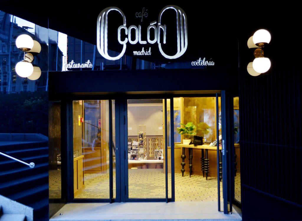 Vestíbulo del restaurante Café Colón