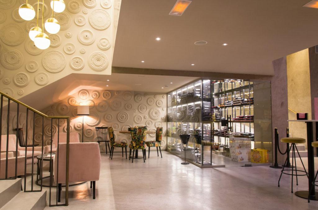 Espacio del restaurante Café Colón