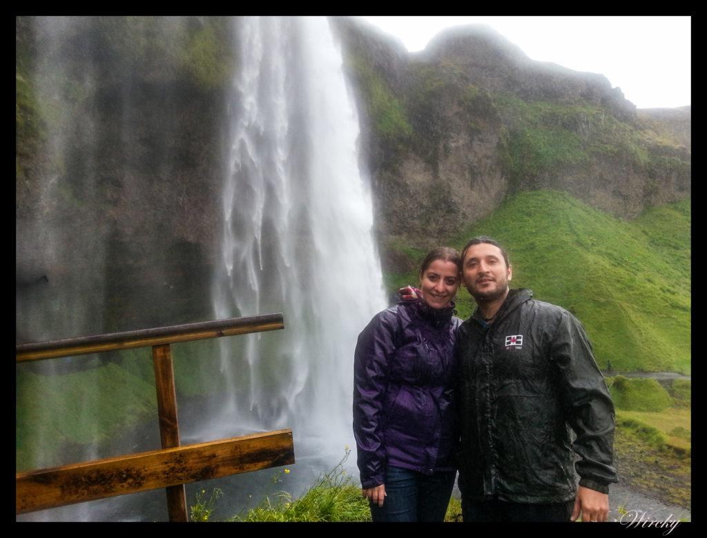 Antonio y Cris en Islandia