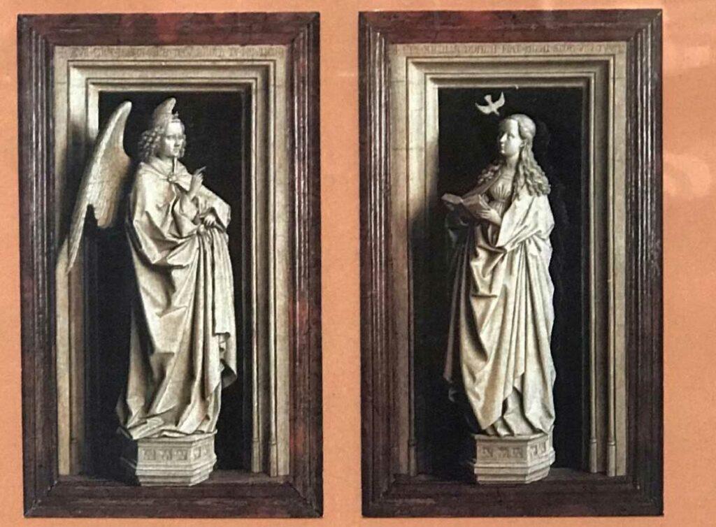 Díptico de la La Anunciación