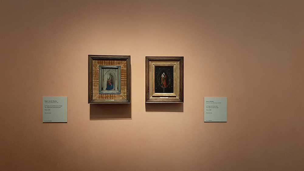 Virgen y el niño y Virgen del Arbol seco